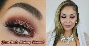 bridal makeup tutorial agape designs bridal makeup glitter glam tutorial