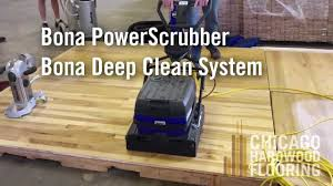 bona powerscrubber floor cleaning machine