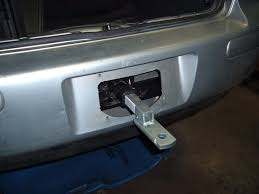 nissan leaf trailer hitch tow hitch mounted to the bumper tdiclub forums