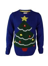 christmas tree jumper with lights novelty christmas tree jumper led blue