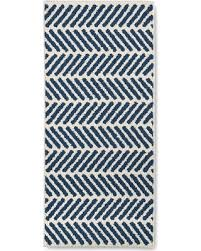 2 X 4 Kitchen Rug Deals On Blue Chevron Accent Kitchen Rug 1 8 X4 2 Threshold