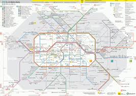 Germany Rail Map by Berlin U Bahn Metro Map Lines Hours And Tickets Mapa Metro Com