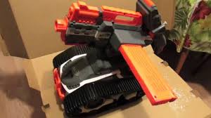 nerf remote control tank unboxing new nerf terrascout rc nerf elite tank youtube
