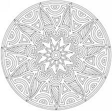 mandala coloring pages geometric mandala coloring pages pictures