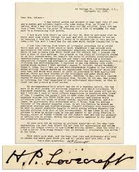 Sad Love Letters To Him Lovecraft Letter About Robert Nelson U0027s Death Lovecraft Ezine