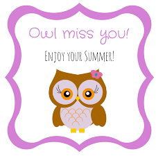 free owl end of gift tag printables the organized dream
