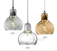 nordic 11 18cm big bulb glass pendant lights glass lshade