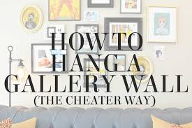 How To Hang A Picture Without Nails Exquisite Ideas How To Hang A Gallery Wall Pretty How Hang Perfect