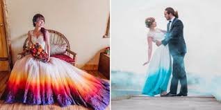 dip dye wedding dress dip dye wedding dresses and you can diy