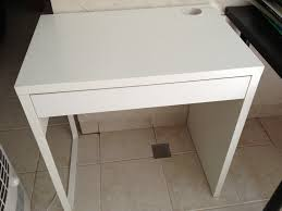 Ikea Corner Desk White by White Ikea Desk A Home Office Inside The Living Room Consisting