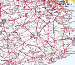 Buenos Aires Map Mapa De Rutas De La Província De Buenos Aires Parcial A U2026 Flickr