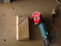Cutting Patio Pavers How To Measure And Cut Paver With Angle Grinder