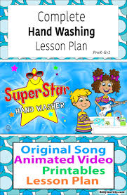 printable poster for hand washing hand washing lesson plan animated video hand washing timing song