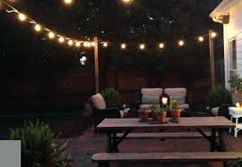 Patio String Lighting Ideas by Solar String Of Lights Gorgeous Outdoor Patio String Lighting