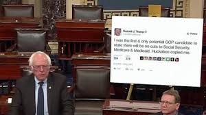 bernie sanders destroys trump from the senate floor youtube