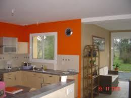 peinture orange cuisine image de peinture orange sur mur faire mieux pour votre maison