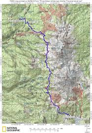Pct Oregon Map by Three Sisters Traverse Backpack Trip Sep 2013 Ltbackpackers