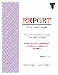 design and build contract jkr a report on procurement strategies pp1