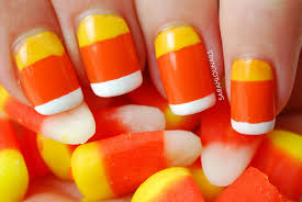 candy corn nails pinterest sarah lou nails candy corn nails nails