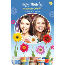 birthday customized card send personalised greeting cards