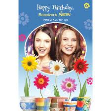 birthday customized card birthday card gallery best custom