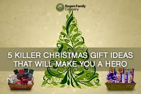 5 killer gift ideas that will make you a