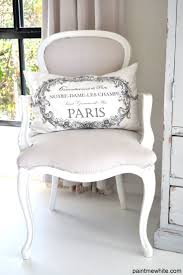 best 25 chaise eiffel ideas on pinterest chair eames ray eames i love the tradition style of the chair with the simple white and tan tones the paris pillow is just the cherry