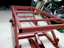 Motorcycle Bench Lift Motorcycle Lift Table Youtube