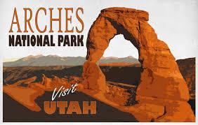 Utah travel art images Vintage travel poster utah free stock photo public domain pictures jpg