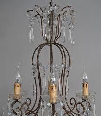 1930s Chandelier by Magnificent Vintage 1930 U0027s Italian Chandelier In Lighting