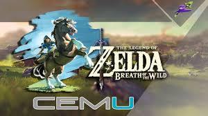 the legend of zelda breath of the wild como jogar no pc cemu