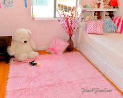 royal purple shaggy area rug throw decor luxury faux fur