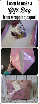 how to store wrapping paper and gift bags best 25 gift bags from wrapping paper ideas on