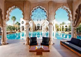 decoration jardin marocain le palais namaskar luxe calme et volupté à marrakech luxsure