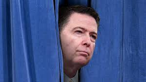Behind Presidential Curtains James Comey Tried To Hide From Donald Trump In Some Curtains Gq