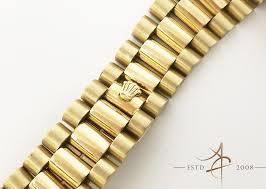 gold bracelet rolex images Original rolex 18k solid gold president bracelet asia timepiece jpg