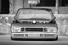 Is Air Ride Suspension Comfortable Lift Me Up Pat Cox U0027s Nissan Hardbody Airsociety