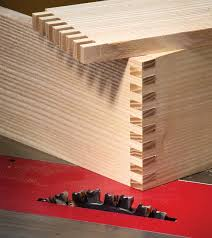 Finger Joints Wood Router by Power Tool Joinery Box Joints Popular Woodworking Magazine