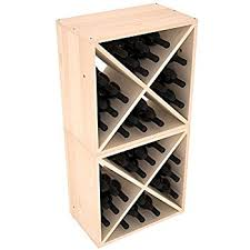 amazon com wooden wine or beverage bottle storage box with