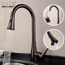 online get cheap rubbed bronze kitchen faucet aliexpress com