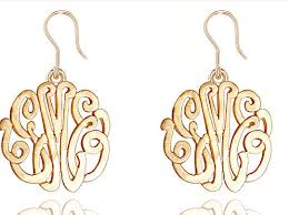monogram jewlery wholesale available for the pink monogram jewelry line and