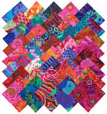 amazon com kaffe fassett collective bold bright precut 5 inch