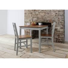 Grey Bistro Table Annika Bistro Set Table With 2 Chairs In Silk Grey And