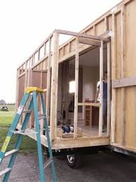Tiny House Slide Out   this is fantastic check out how to build a slide out for your tiny
