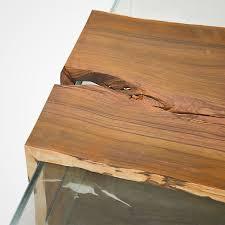 cocobolo glass box coffee table u2013 rotsen furniture