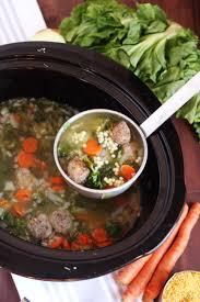 Italian Soup by Slow Cooker Italian Wedding Soup