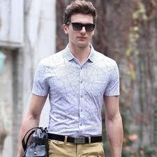 aliexpress com buy dress shirt men short sleeve top quality