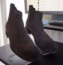 s ankle ugg boots ugg australia clyne boots s ankle brown suede pull on size 7 5