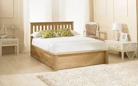 Oak Ottoman Bed Emporia Beds Solid Oak Ottoman