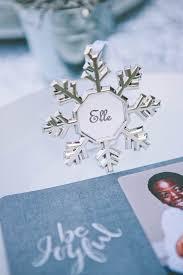 kara s ideas silver white snowflake